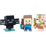 Minecraft Serie 2 Colección Pigman Zombie Wither Steve Pesca
