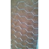 Malla Galvanizada Hexagonal Gallinero Optima Calidad Morlan