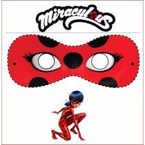 10 Mascara Miraculous Ladybug Cat Noir