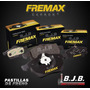 Pastillas Freno Fremax Del Ford Fiesta Edge 2002-2012 151,30
