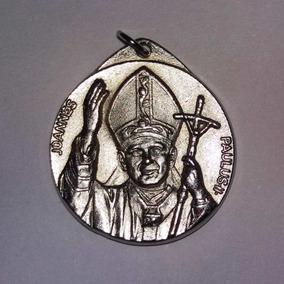 Llavero Católico Juan Pablo Ii (2do) Y Ciudad Del Vaticano