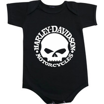 Body Harley Davidson - Motos - Caveira - Moto Club - Skul