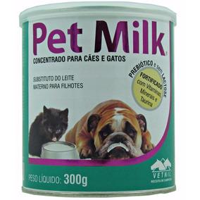 Pet Milk Substituto Do Leite Materno Para Cães E Gatos 300g