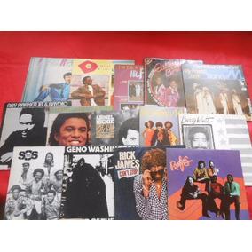 Vinil Black Music Lote Com 14 Compactos Raros Único No Ml