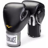 Guantes De Box Everlast 8 10 12 14 Onzas Negros Boxeo Mma