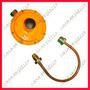 Galea - Regulador Para Gas Natural Con Flexible De 12 M3/h