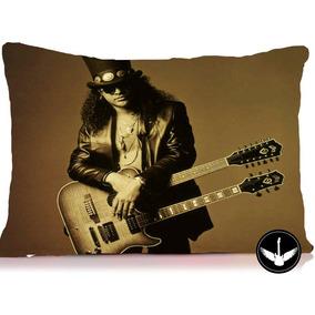 Almofada Slash Guitarrista Guns N Roses Cartola Frete Grátis