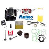 Kit Motor Biz/drean/pop 100 +(biela/valvula/retentor/juntas)