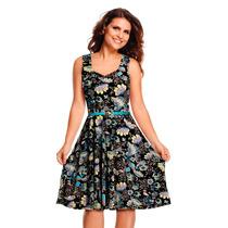 Vestido Aline Barros By Com Saia Godê