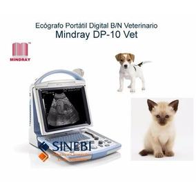 Ultrasonido Portatil Veterinario Mindray Dp-10 Vet Nuevo