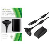 Xbox 360, Cargador + Bateria 4800 Mah Control Xbox 360