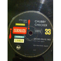 Chubby Checker - Let´s Twist Again Simple Vinilo