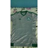 Camisa Prata Palmeiras Sem Número E Patrocínio