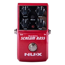 Pedal De Efectos Bass Scream Nux
