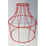 Armazón Mediano - Alambre Vintage Para Lámpara Colgante