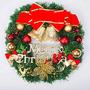 Corona De Navidad, Somán Decoración De La Pared De La Puert