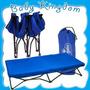 Catre Camping Para Niños Plegable Portatil Nuevo Liviano