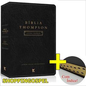 Bíblia De Estudo Thompson Letra Grande + Índice
