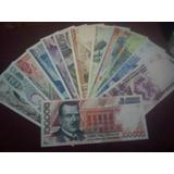 Coleccion De 13 Billetes Mexicanos 5 Pesos A 100,000 Pesos!