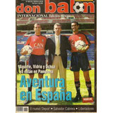 Revista Javier Aguirre Osasuna De España Don Balon