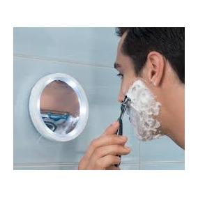 Lindo Espelho Portatil Swive Aumento 8x Luz Led Frete Gratis