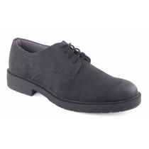 Zapato Ferrato Piel Natural Negro Comodo 3.5cm Casual Andrea