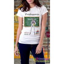 Camiseta Personalizada Profissões Professora