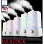 Humidificador De Ambiente Ultrasónico 1,5 L Vapor Aroma