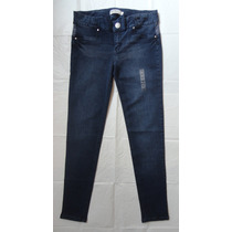 Jean Milk Blues Nuevo Talla 34 Pitillo Entallado Stretch