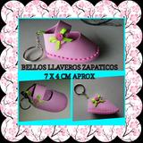 Llaveros Zapatos Defoami Recuerdos Pares P/bebes