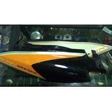 Tapas Laterales Empire Tx 200 Negro/naranja (par)