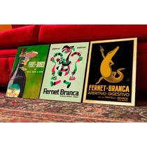 Cuadros Posters Antiguos Fernet Branca. Decoración Bar