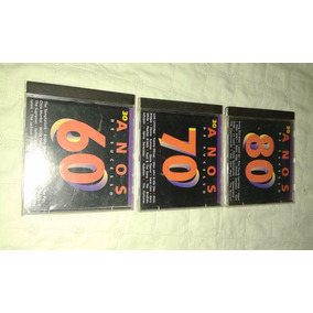 Coletânea De 3 Cds Originais 30 Anos De Sucess Anos 60,70,80