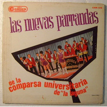 Comparsa Universitaria De La Laguna 1 Disco Lp Vinilo