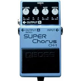 Boss Pedal Guitarra Ch-1 Super Chorus(frete Grátis Pac)