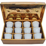 Juego De 12 Tazas Porcelana China Te Porcelain Chinese