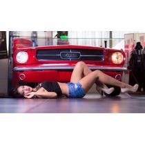 Escritorio Mustang 1965 Fabricado En Fibra De Vidrio Replica