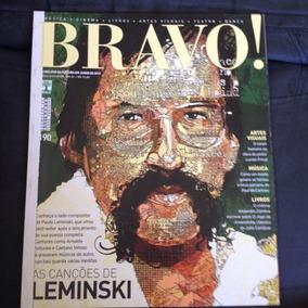 Revista Bravo 190 2013 Paulo Leminski Música Artes Visuais