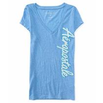 Camisa Dama Aeropostale Designe Talla S