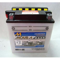 Bateria Suzuki Gs500 Intruder 250 Moura Mv11-de - Yb10l-a2