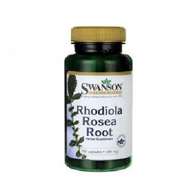 Suplemento Rhodiola Rosea Root Swanson 100 Cap 400 Mg