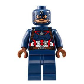Lego Capitan America Con Escudo 76032 76041 Legobricksrfun