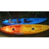 Tridente Kayak Triple Kayaxion Pesca Travesía Laguna Mar