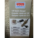 Cargador 12v Fisher Price