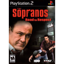 Jogo Ps2 The Sopranos Road To Respect Original
