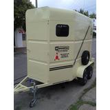 Minimetal Fabrica Trailer Para 2 Equinos