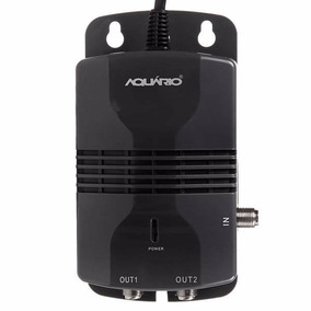 Amplificador Sinal Al-1020 + Conversor Digital Dtv 5000 Aqua