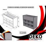 Mueble Organizador Para Tiendas Mdf Tmb.33
