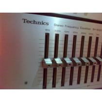 Equalizador Technics Sh8020 Hi Fi Ecualizador Sansui Pione