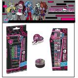 Kit Escolar Monster High - 18 Peças